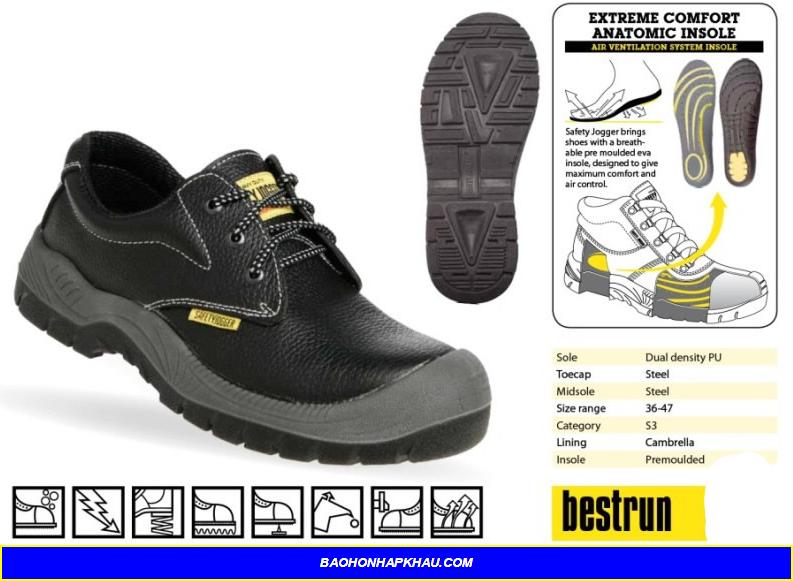 Giày bảo hộ phản quang và những điều bạn cần biết