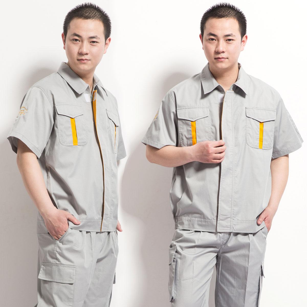 Một số mẫu quần áo bảo hộ pha màu đẹp giá rẻ