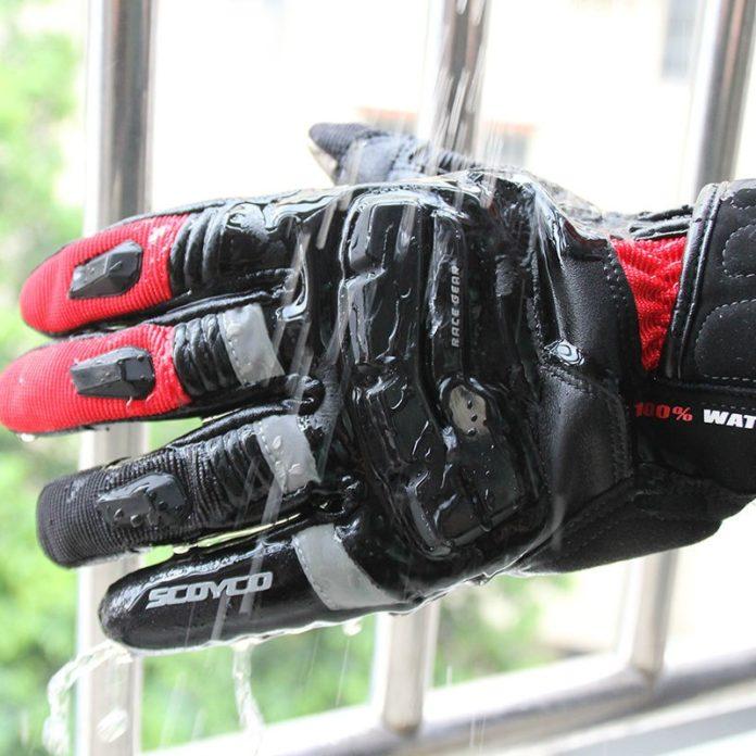 Găng tay bảo hộ chống nước làm từ sợi vải tổng hợp