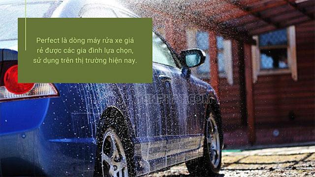 Máy rửa xe Perfect có tốt không? Ưu và nhược điểm của máy