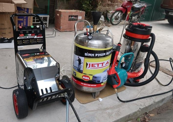 Tìm hiểu vai trò và ứng dụng của máy rửa xe công nghiệp