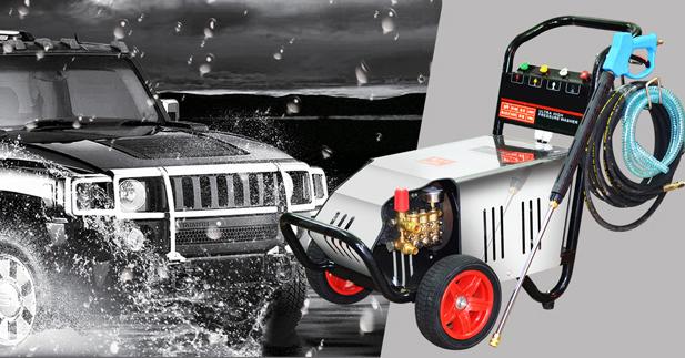 Máy rửa xe ô tô tại nhà Ergen EN - 6708 có khả năng tự ngắt khi nhả cò súng.